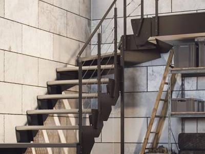 schody modułowe stalowe 1